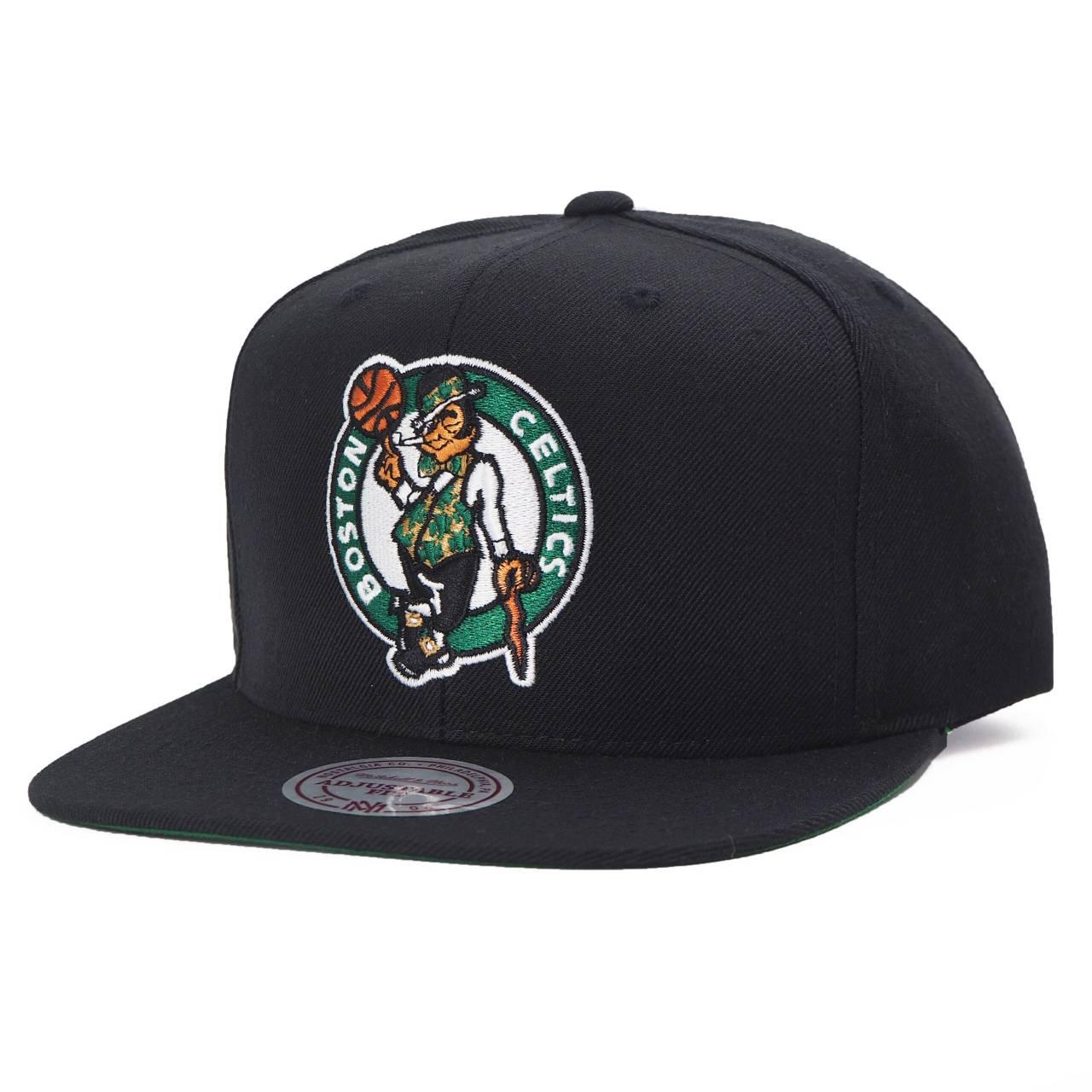 MN-NBA-INTL225-BOSCEL-BLK-OS NBA BOSTON CELTICS WOOL SOLID SNAPBACK BLACK
