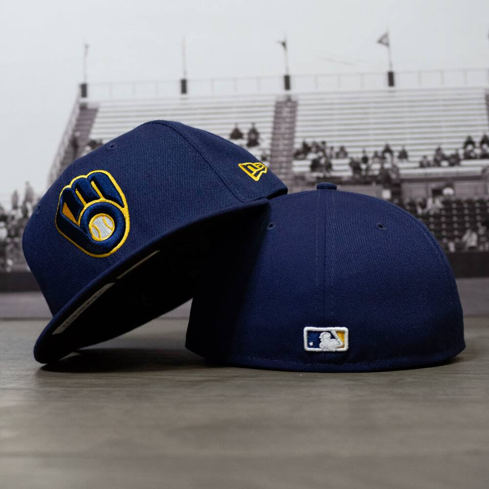59FIFTY MLB AUTHENTIC MILWAUKEE BREWERS TEAM FITTED CAP