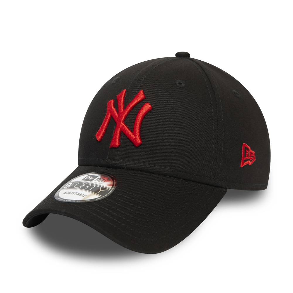 9FORTY MLB NEW YORK YANKEES BLACK/RED CAP