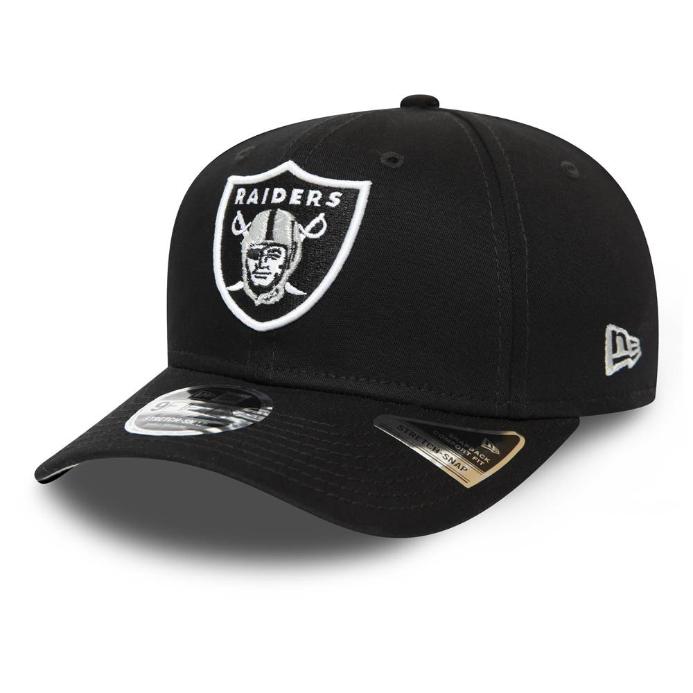 12285247 9FIFTY NFL OAKLAND RAIDERS STRETCH SNAP BLACK