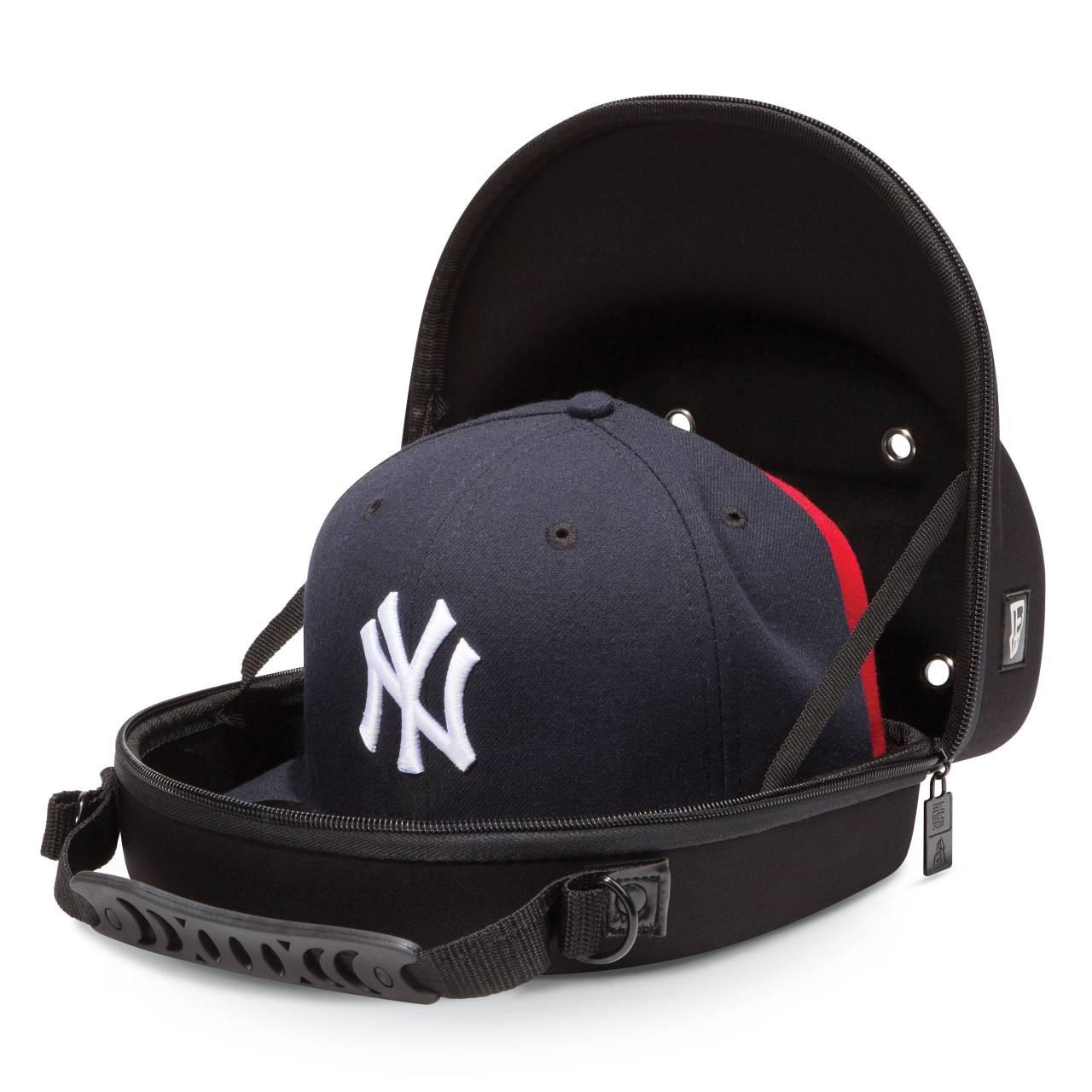 10030708 CAP CARRIER 2PACK NEW ERA BLACK BAG