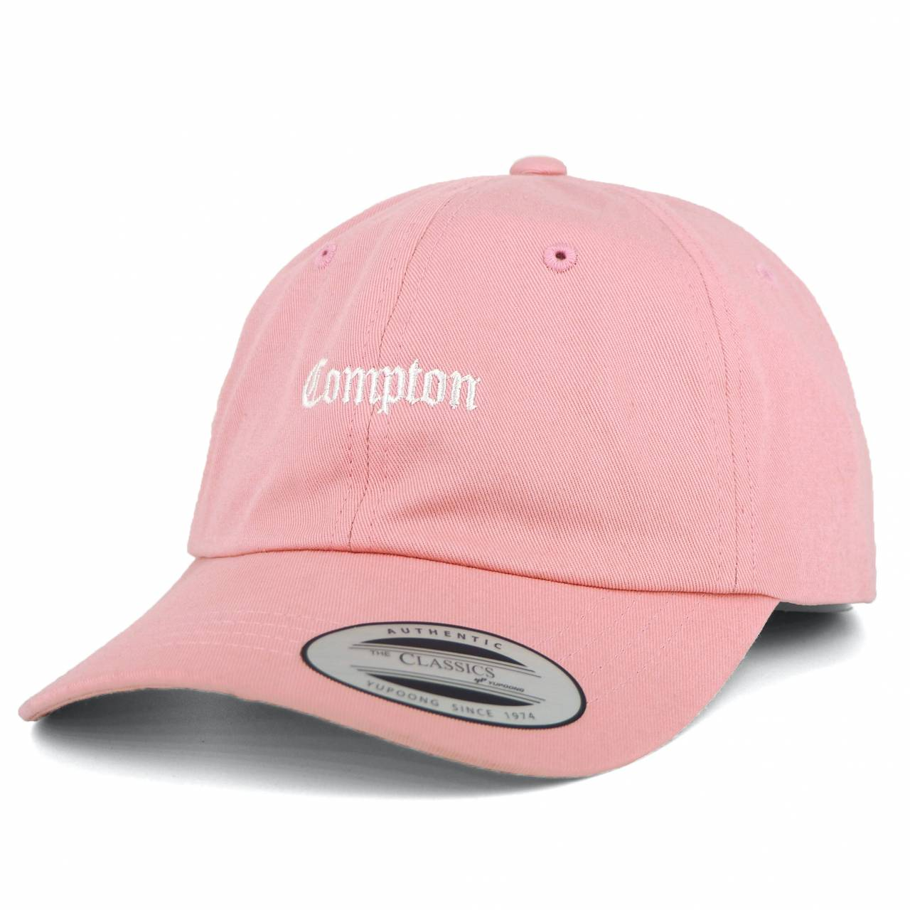 MT536-00185-00 50 COMPTON DAD'S CAP PINK SOFT CROWN