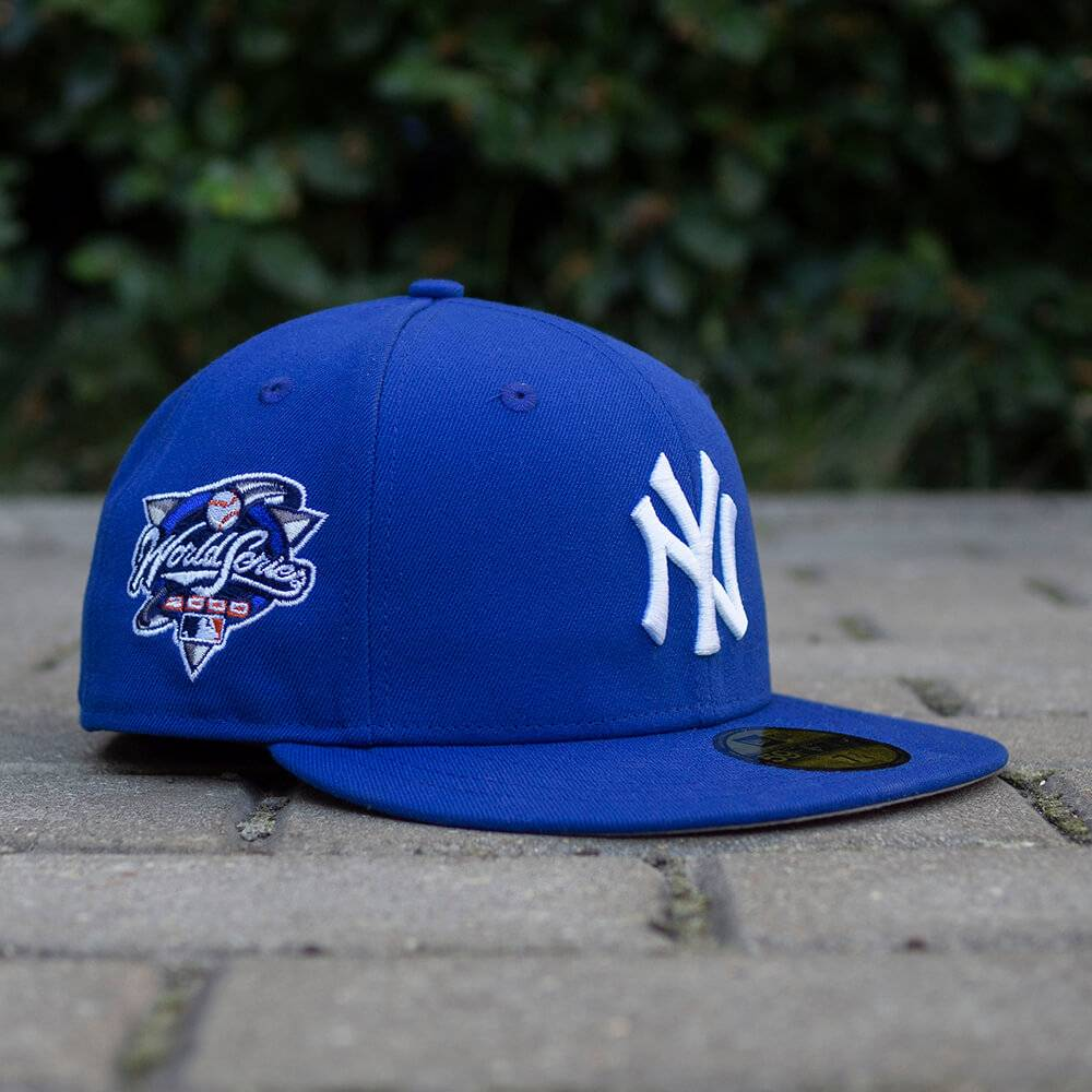 LIMITED 59FIFTY MLB NEW YORK YANKEES WS 2000 LIGHT ROYAL / GREY UV