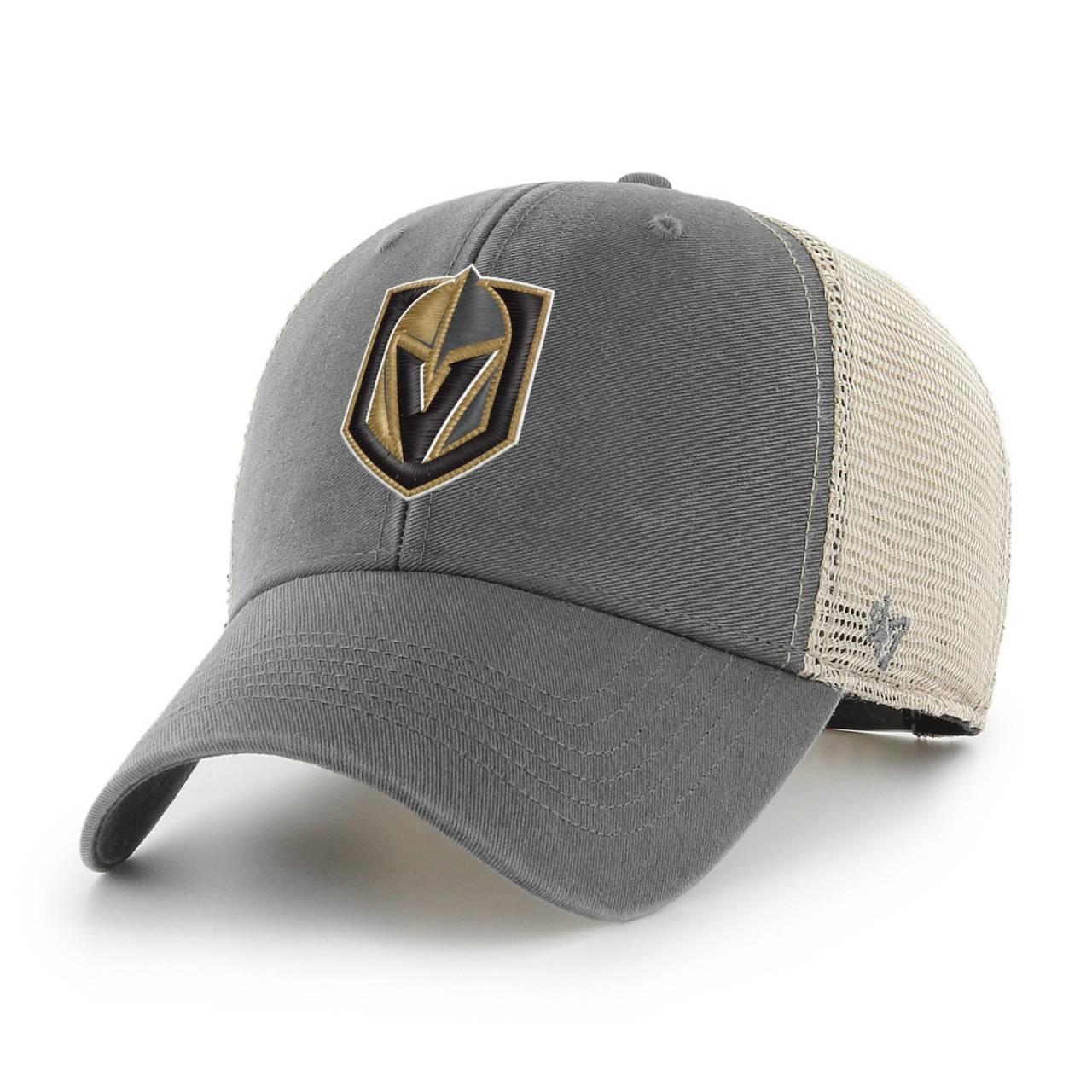 NHL VEGAS GOLDEN KNIGHTS FLAGSHIP WASH '47 MVP GREY CAP