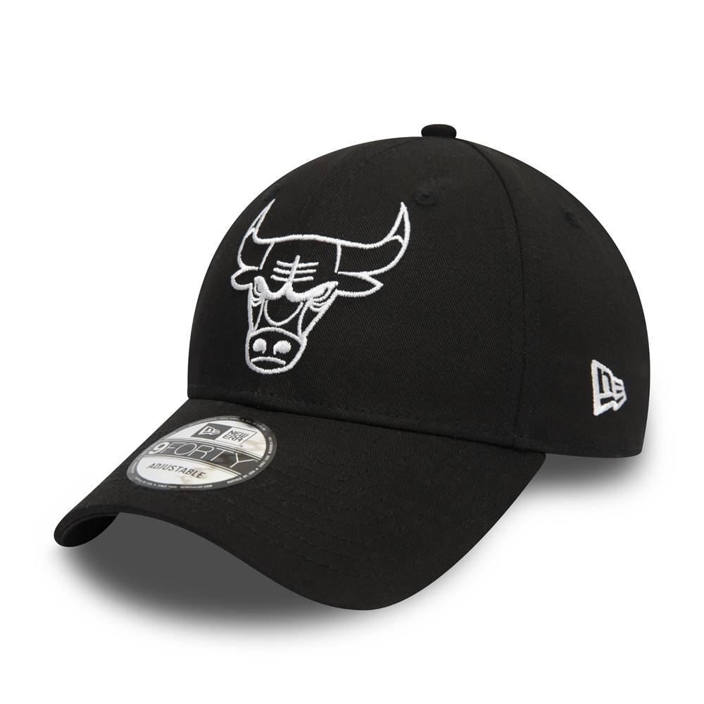 9FORTY ESSENTIAL OUTLINE NBA CHICAGO BULLS CAP