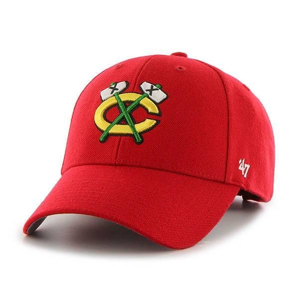 NHL CHICAGO BLACKHAWKS '47 MVP RED CAP