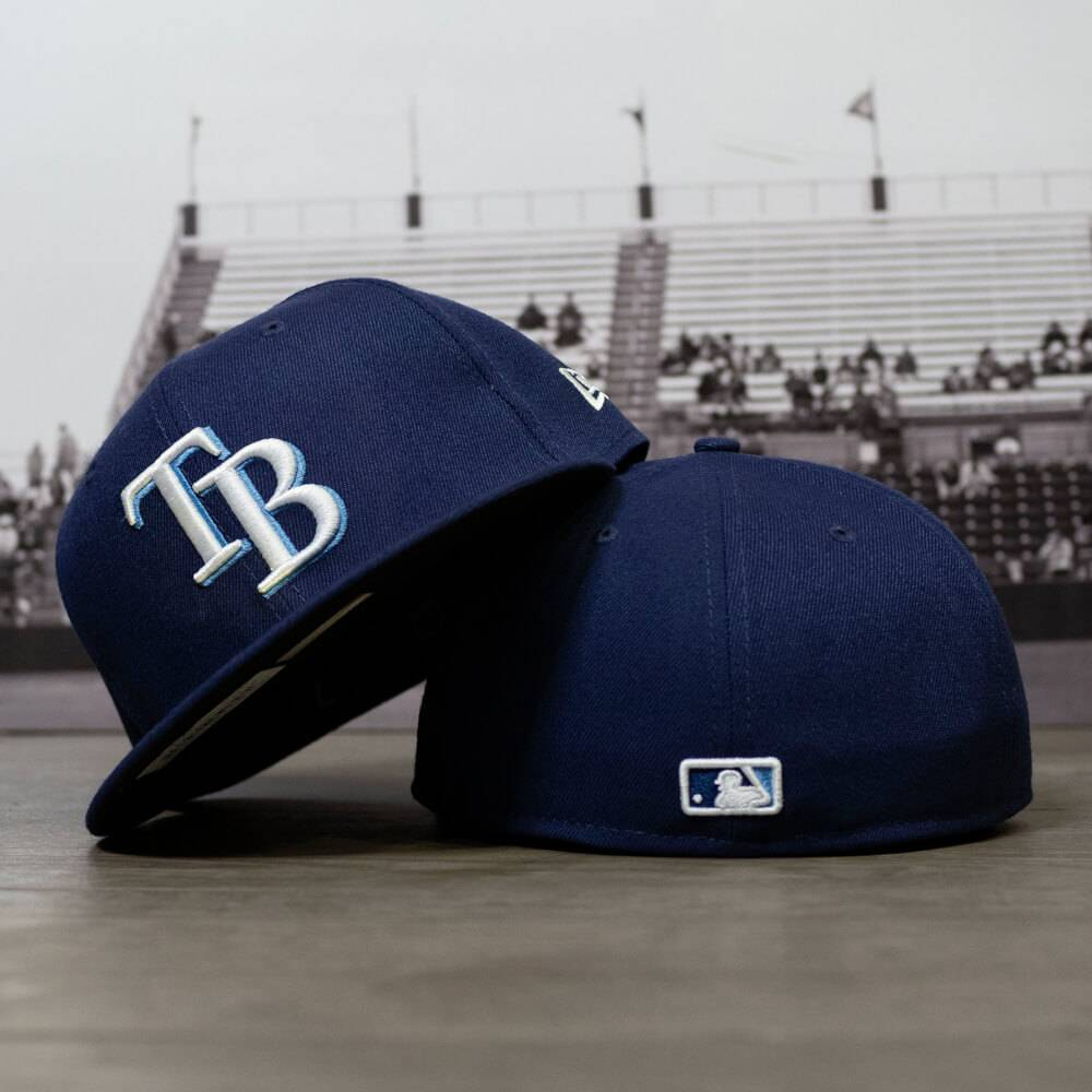 59FIFTY MLB AUTHENTIC TAMPA BAY RAYS TEAM FITTED CAP