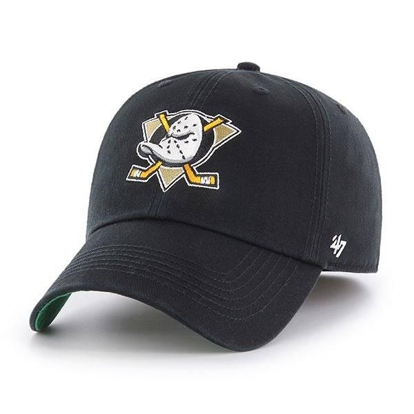 H-FRANC25RPF-BKA NHL ANAHEIM DUCKS '47 FRANCHISE FITTED CAP