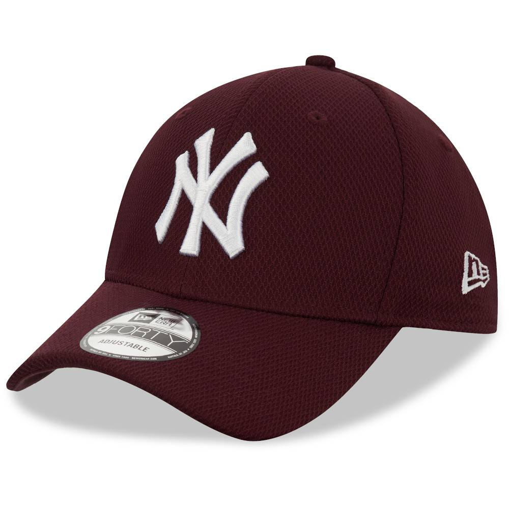 12523905 9FORTY DIAMOND ERA NEW YORK YANKEES MAROON CAP