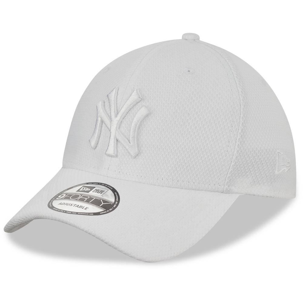 12523903 9FORTY DIAMOND ERA NEW YORK YANKEES WHITE CAP
