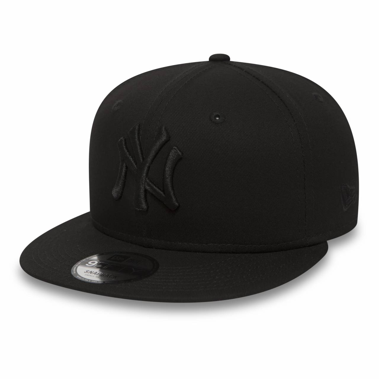 11180834 9FIFTY MLB NEW YORK YANKEES BLACK/BLACK SNAPBACK