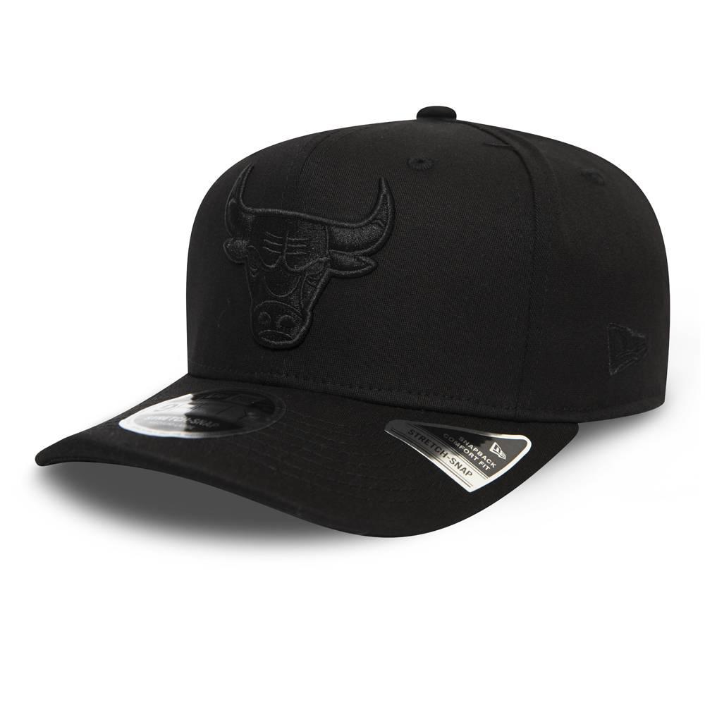 12285245 9FIFTY NBA CHICAGO BULLS STRETCH SNAP BLACK/BLACK