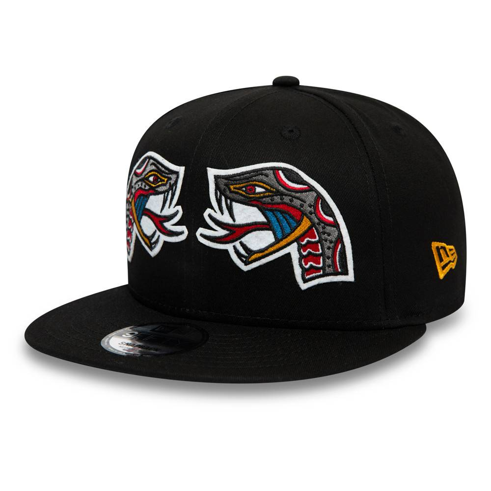 12490056-9FIFTY NEW ERA SNAKE TATTOO BLACK CAP