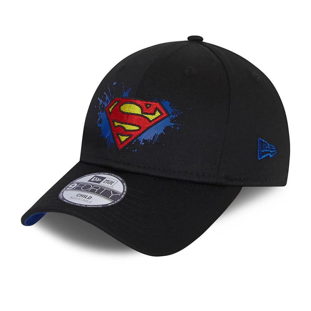 9FORTY KIDS DC SPIDERMAN LOGO SCHWARZE CAP