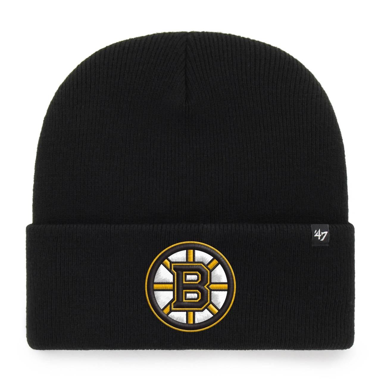 NHL BOSTON BRUINS HAYMAKER ´47 CUFF KNIT BLACK