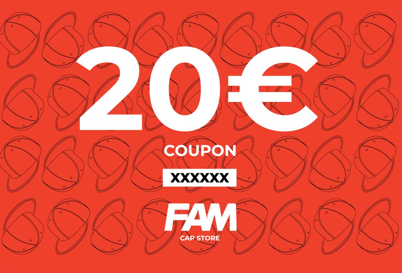 20€ coupon