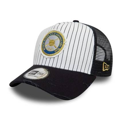 12040157 MLB TRUCKER NEW YORK YANKEES WS PATCH 1921 WHITE/NAVY CAP