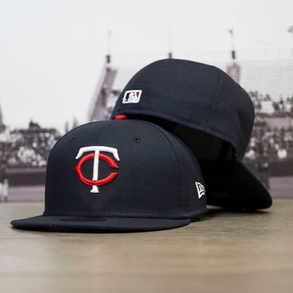 59FIFTY MLB AUTHENTIC MINNESOTA TWINS TEAM FITTED CAP