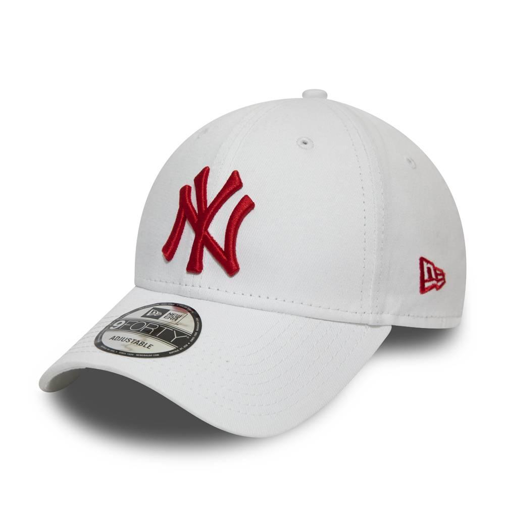 12380597 9FORTY MLB NEW YORK YANKEES WHITE/RED CAP