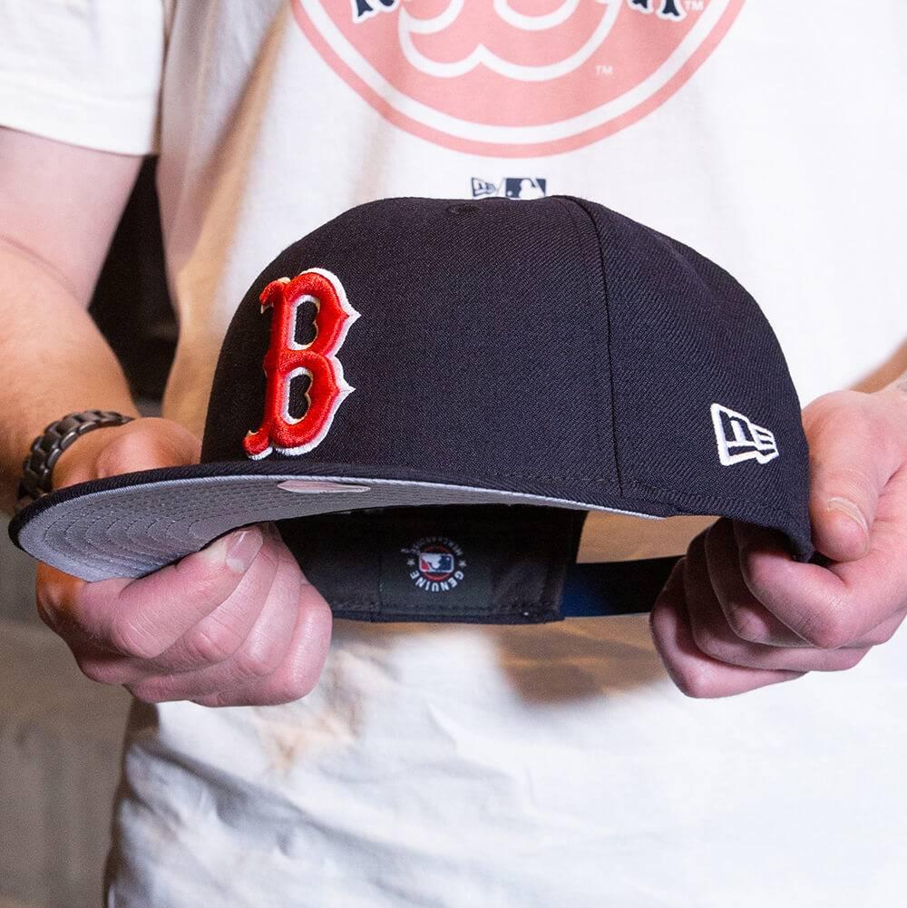 LIMITED 9FIFTY MLB BOSTON RED SOX NAVY/GREY UV SNAPBACK