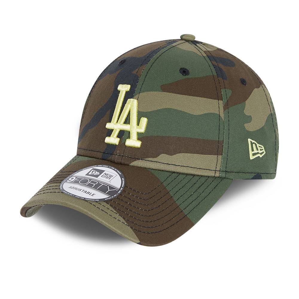 New Era 9FORTY MLB Los Angeles Dodgers Woodland Camo