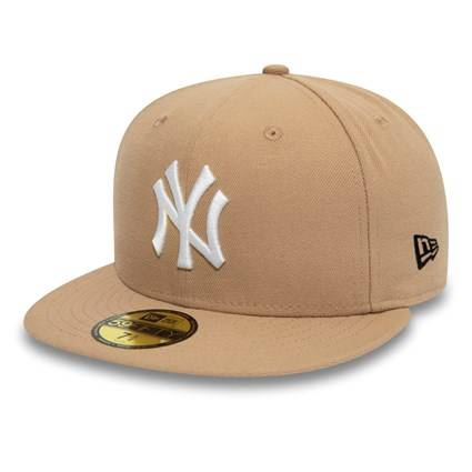 11945498 59FIFTY MLB NEW YORK YANKEES CAMEL FITTED CAP