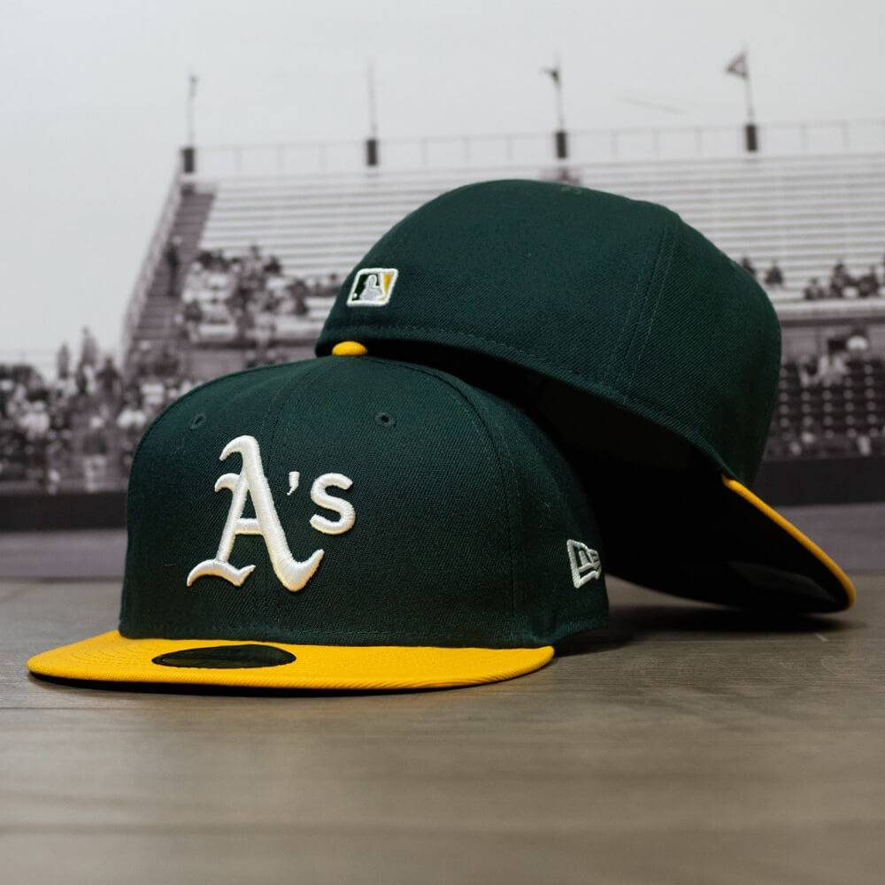59FIFTY MLB AUTHENTIC OAKLAND ATHLETICS TEAM FITTED CAP
