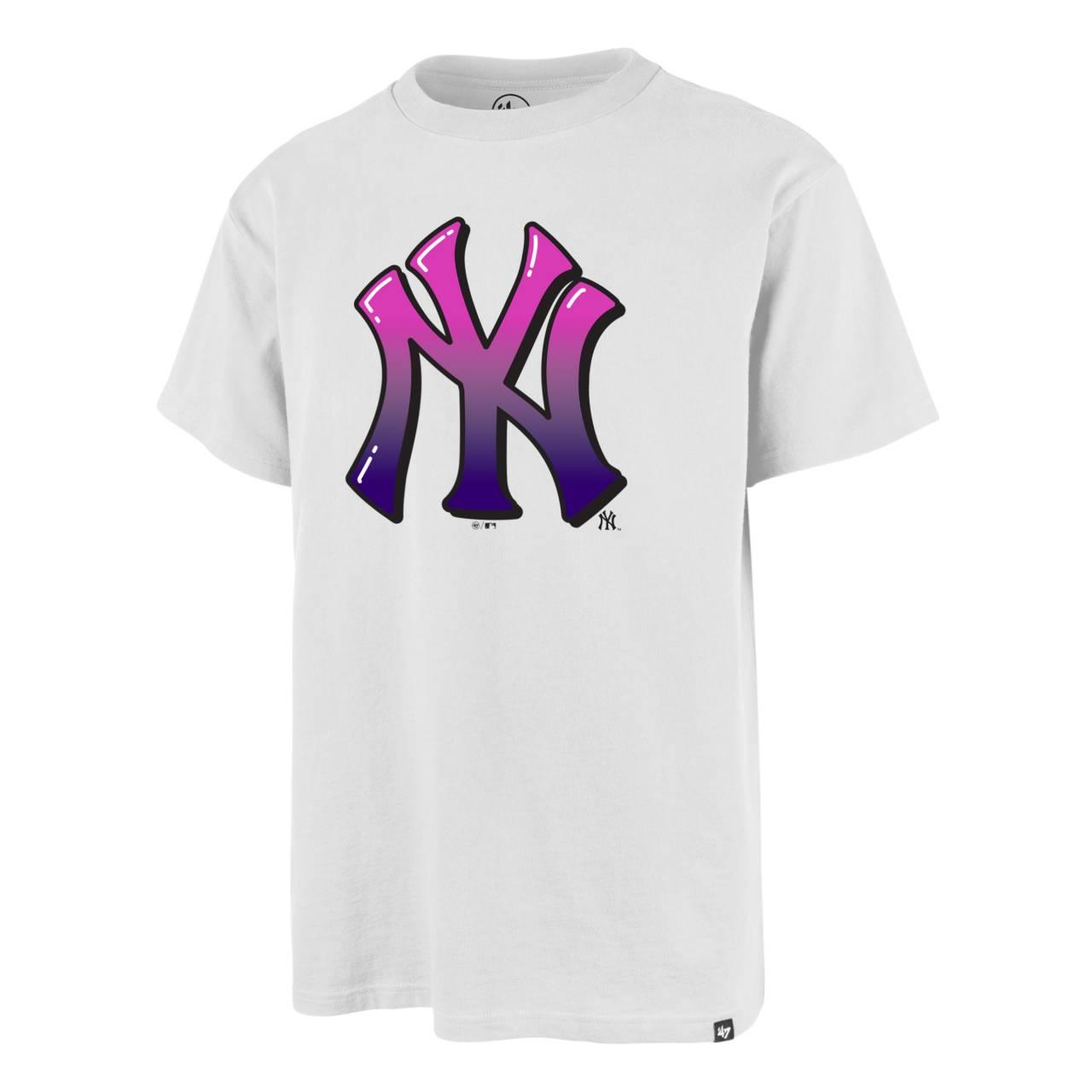 T-SHIRT MLB NEW YORK YANKEES LOGO WEISS