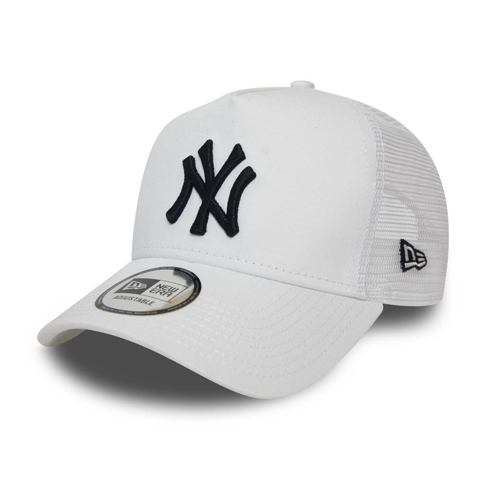 MLB TRUCKER NEW YORK YANKEES WHITE/NAVY LOGO